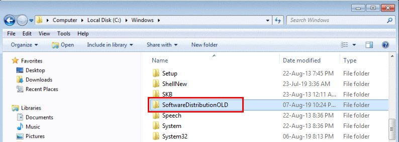 SoftwareDistributionOLD
