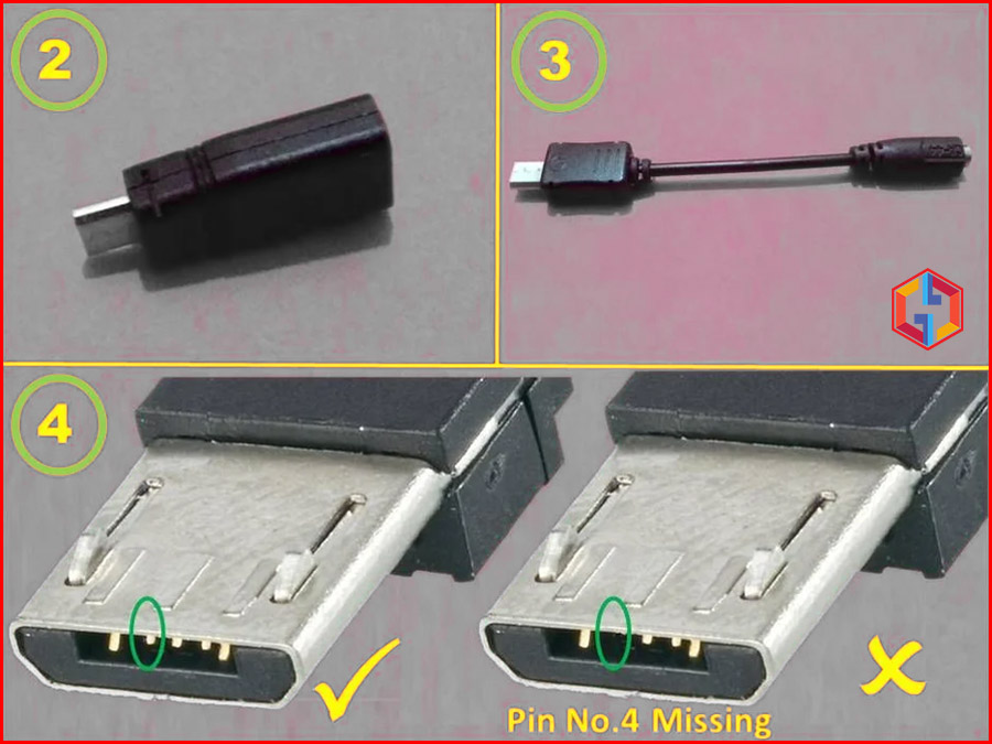 How to choose Micro USB for Samsung Download Mode Jig