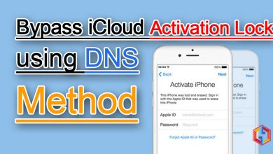 Bypass iCloud Activation Lock using DNS Method for iPhone